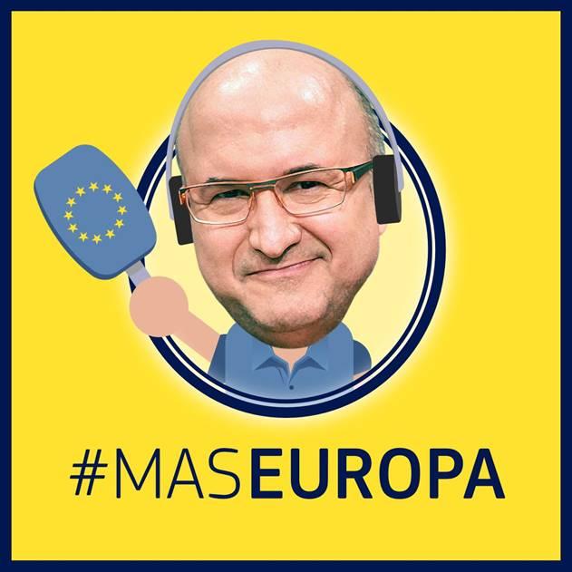 Les representacions de les institucions europees a Barcelona estrenen el podcast setmanal MasEuropa, amb Sergi Mas
